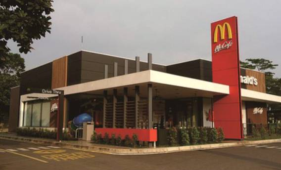 Restaurant and Retail Store More than 500 units of Mc Donalds Store mcd